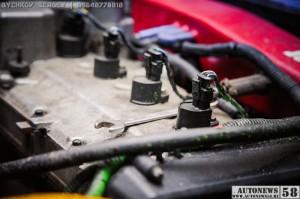 Двигатель гоночного автомобиля
