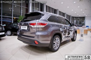 Toyota Highlander new Пенза презентация