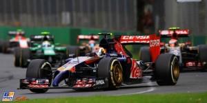 Kvyat Daniil Russia Formula 1 Австралия