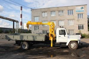 Автоманипулятор на базе ГАЗ