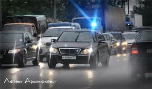 Мигалки в Москве