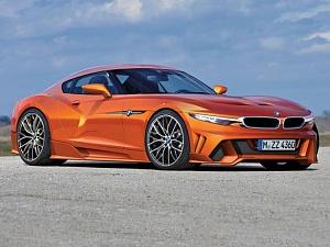 Спорткар BMW и Toyota