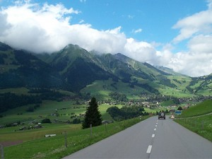 Road in Europe