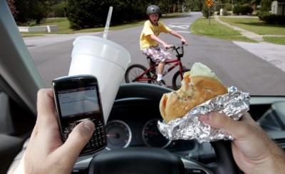 Phone, road