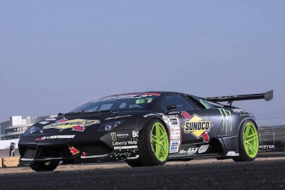 Lamborghini-drift-2