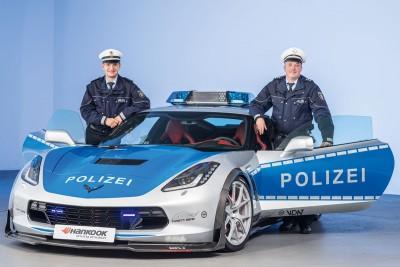 Chevrolet-Corvette-polizei