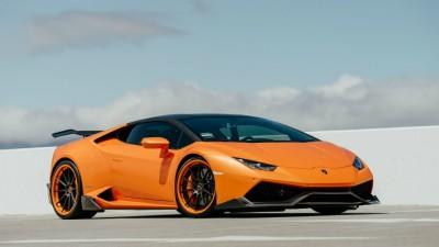 Lamborghini-Huracan-orange