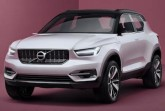 Volvo Concept 40.1 front seven-eights