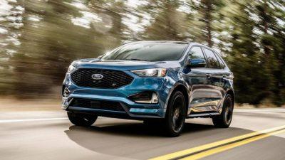 Обновлённый Ford Edge
