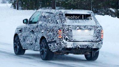 Range Rover Coupe замечен на тестах