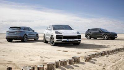 Новый Porsche Cayenne в РФ
