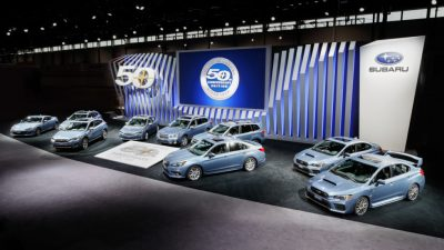 Юбилейный версии Subaru