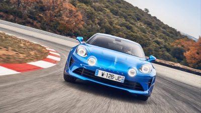 спорткар Alpine A110