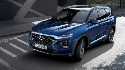 Hyundai Santa Fe четвёртого поколения