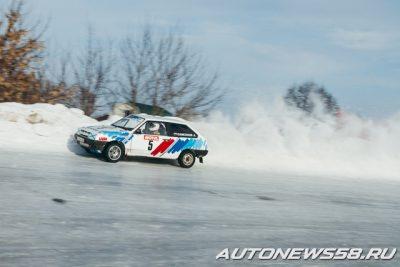 Зимние трековые гонки в Пензе - квалификация