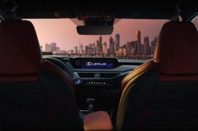 Официальные фото Lexus UX