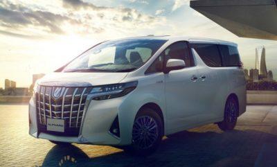 Обновленный Toyota Alphard
