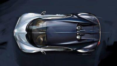 Новая версия Bugatti Chiron