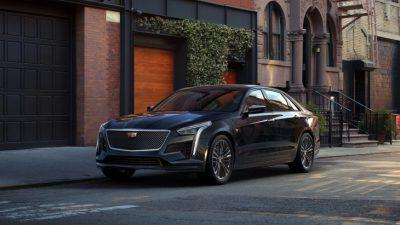 Cadillac рассекретил обновлённый CT6