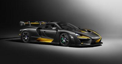 Карбоновый вариант McLaren Senna