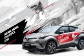 Российский показ Toyota C-HR