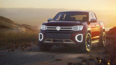 Новый пикап Volkswagen Atlas Tanoak