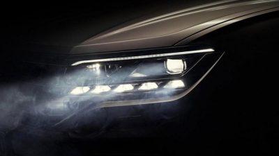Оптика нового VW Touareg