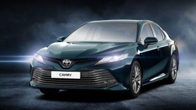 Новая Toyota Camry для России