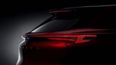 Buick официально анонсировал премьеру нового концептуального электрического внедорожника Enspire Concept.  Его первый показ состоится 17 апреля в Китае в рамках специального мероприятия Buick Brand Night. А через неделю концепт привезут на Пекинский автосалон. Производитель опубликовал первое интригующее изображение новинки, на которой демонстрируется задняя часть электрокара повышенной проходимости. Судя по тизеру, дизайн «паркетника» выполнен в новом стиле: SUV получил узкие светодиодные фонари, соединенные перемычкой. Как отмечают представители концерна General Motors, новинка предназначена для Поднебесной.