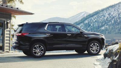 Российские цены на Chevrolet Traverse
