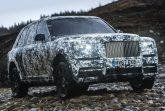 Тесты внедорожника Rolls-Royce Cullinan