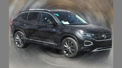 VW Tayron замечен на тестах