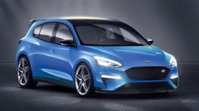 Новое поколение Ford Focus RS