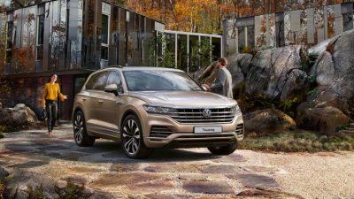 Цены на новый Volkswagen Touareg