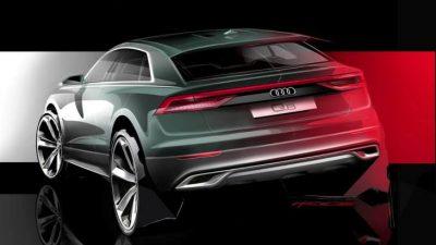 Кроссовер Audi Q8