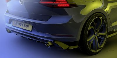 290-сильный Golf GTI TCR