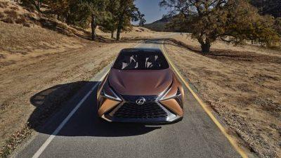 Имя для нового кроссовера Lexus