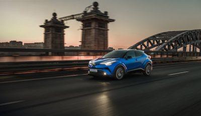 Старт продаж Toyota C-HR