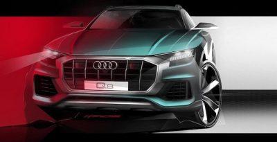 Дизайн нового Audi Q8