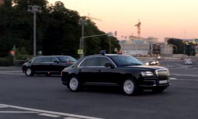 Колонна автомобилей «Кортеж»
