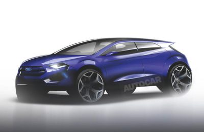 Электрокроссовер Ford на базе Focus