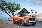 Hyundai представила на индийском рынке обновленный кроссовер Creta.