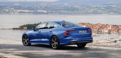 Рендер нового Volvo S60