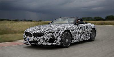 Новый BMW родстер Z4