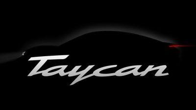Электрокар Porsche Taycan
