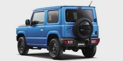 Официальные фото нового Suzuki Jimny