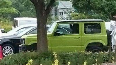 Внешность нового Suzuki Jimny