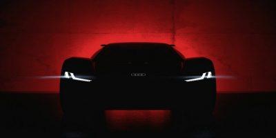 Электрический суперкар Audi