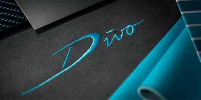 Тизер гиперкара Bugatti Divo