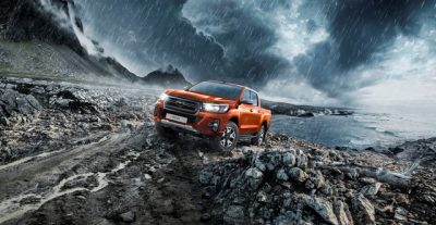 Новая версия Toyota Hilux Exclusive